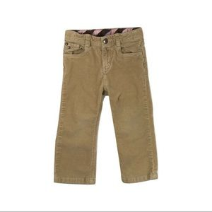 Tommy Hilfiger Girls Corduroy Pants, 18 Months